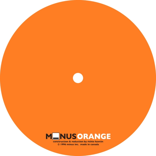 Richie Hawtin – Minus Orange [MINUSOR01]